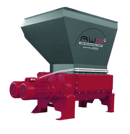 AWB Four-Shaft-Shredder powered by Votecs